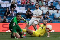 Real Madrid's Dani Carvajal during La Liga match between Real Madrid and Villarreal CF at Santiago Bernabeu Stadium in Madrid, Spain. May 05, 2019. (ALTERPHOTOS/A. Perez Meca)<br /> Liga Campionato Spagna 2018/2019<br /> Foto Alterphotos / Insidefoto <br /> ITALY ONLY
