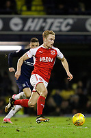 Kyle Dempsey of Fleetwood Town in action during the Sky Bet League 1 match between Southend United and Fleetwood Town at Roots Hall, Southend, England on 13 January 2018. Photo by Carlton Myrie.