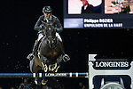 Philippe Rozier on Unpulsion de la Hart competes during the AirbusTrophy at the Longines Masters of Hong Kong on 20 February 2016 at the Asia World Expo in Hong Kong, China. Photo by Victor Fraile / Power Sport Images