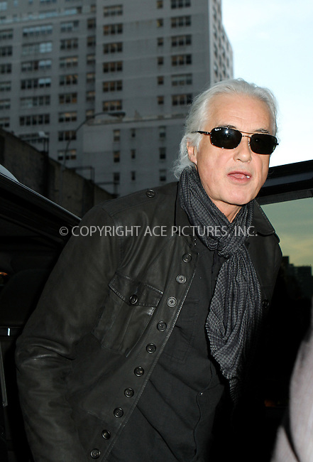 WWW.ACEPIXS.COM....December 3 2012, New York City....Jimmy Page made an appearance on the Late Show with David Letterman on December 3, 2012 in New York City ....By Line: Nancy Rivera/ACE Pictures......ACE Pictures, Inc...tel: 646 769 0430..Email: info@acepixs.com..www.acepixs.com