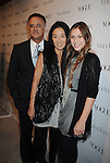 LOS ANGELES, CA. - March 02: Vera Wang (C), husband Arthur Becker and daughter attend the Vera Wang Store Launch at Vera Wang Store on March 2, 2010 in Los Angeles, California.