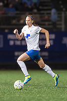 Allston, MA - Saturday, May 07, 2016: Boston Breakers defender Julie King (8) during a regular season National Women's Soccer League (NWSL) match at Jordan Field.