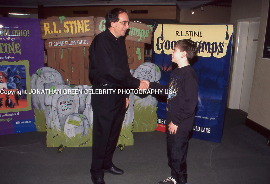 R.L. Stine Goosebumps Author 1997 by<br />