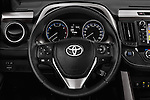 Car pictures of steering wheel view of a 2016 Toyota RAV4 Style 5 Door SUV Steering Wheel