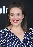 """HOLLYWOOD, CA - APRIL 19:  Meredith Salenger at the premiere Of Hulu's """"The Handmaid's Tale"""" Season 2 at TCL Chinese Theatre on April 19, 2018 in Hollywood, California. (Photo by Scott KirklandPictureGroup)"""