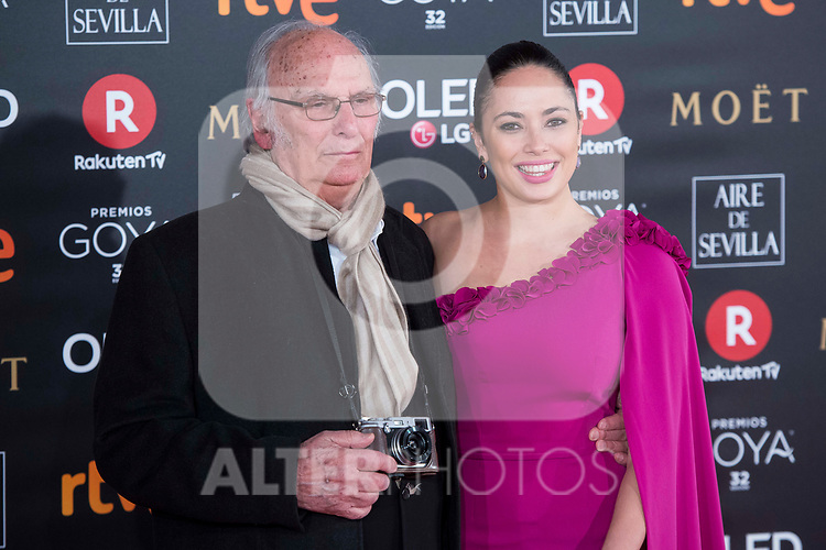 Carlos Sauras attends red carpet of Goya Cinema Awards 2018 at Madrid Marriott Auditorium in Madrid , Spain. February 03, 2018. (ALTERPHOTOS/Borja B.Hojas)
