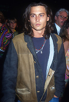 Johnny Depp, 1992, Photo By Michael Ferguson/PHOTOlink