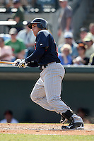 March 8, 2010:  Daniel Rams of the Minnesota Twins during a Spring Training game at Ed Smith Stadium in Sarasota, FL.  Photo By Mike Janes/Four Seam Images