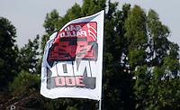 SÃO PAULO, SP, 14 DE MARÇO DE 2010 - TREINOS SÃO PAULO INDY 300 - Na manhã de hoje treinos para a corrida São Paulo Indy 300, etapa de abertura da temporada 2010 da IZOD IndyCar Series. Na foto  bandeira da São Paulo Indy 300<br />  .A corrida acontece na tarde deste domingo, nas ruas de São Paulo, passando pelo Sambódromo e Marginal do Tietê. (FOTO: WILLIAM VOLCOV / NEWS FREE).