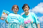 Mother and daughter Mary Ellen and Mary McCarthy Kilgarvan who will take on a 5km fun run today (Thursday June 20th) to raise funds for Crumlin Children's Hospital.