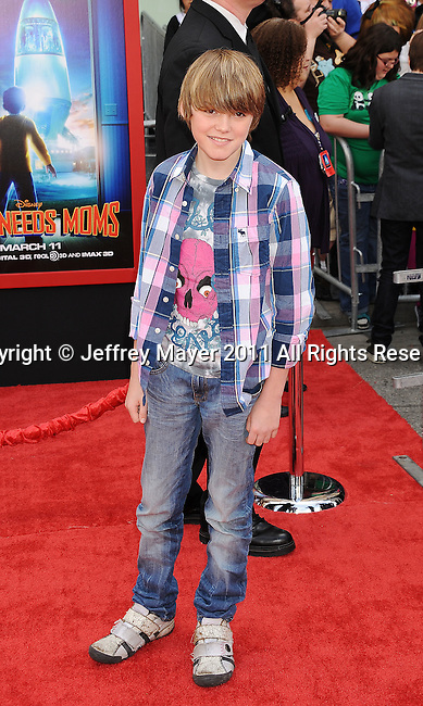"""HOLLYWOOD, CA - MARCH 06: Spencer List arrives at """"Mars Needs Moms 3D"""" Los Angeles Premiere at the El Capitan Theatre on March 6, 2011 in Hollywood, California"""