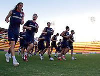 US Men's National Team. Stadium Training prior to FIFA World Cup qualifiers USA vs El Salvador at Estadio Cuscatlán Stadium  on March 27, 2009.