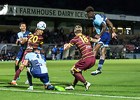 Anthony Stewart of Wycombe Wanderers during the Pre-Season Friendly match between Wycombe Wanderers and Queens Park Rangers at Adams Park, High Wycombe, England on the 22nd July 2016. Photo by Liam McAvoy / PRiME Media Images.