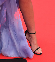 """TORONTO, ONTARIO - SEPTEMBER 07: Chloe Bennet, Shoe detail, attends the """"Abominable"""" premiere during the 2019 Toronto International Film Festival at Roy Thomson Hall on September 07, 2019 in Toronto, Canada. <br /> CAP/MPIIS<br /> ©MPIIS/Capital Pictures"""