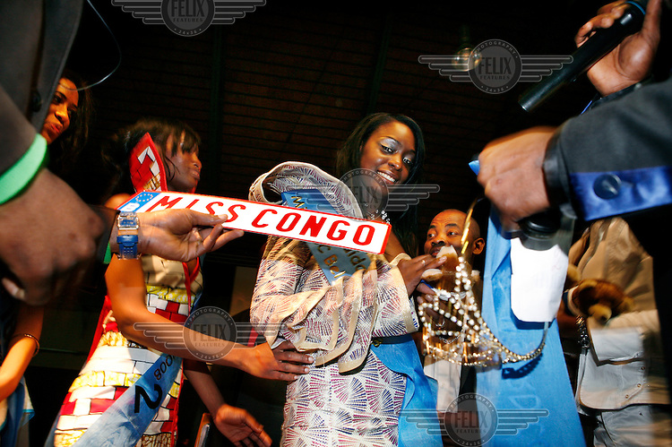 Miss DR Congo Belgium beauty contest, a competition seeking to find the most beautiful girl of Congolese nationality living in Belgium. .