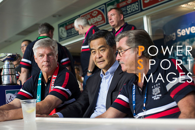 Guest attends the HKRFU VIP's Box during the Cathay Pacific / HSBC Hong Kong Sevens at the Hong Kong Stadium on 27 March 2015 in Hong Kong, China. Photo by Jerome Favre  / Power Sport Images