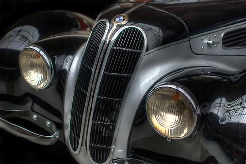 Classic car.<br /> BMW