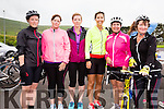 Taking part in the Southern Gales fundraising cycle on Sunday were l-r; Gerardette Kelleher, Aine O'Connor, Martina O'Shea, Michelle Dwyer, Eileen Clifford & Eileen Lynch.