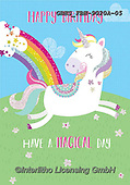 John, CHILDREN BOOKS, BIRTHDAY, GEBURTSTAG, CUMPLEAÑOS, paintings+++++,GBHSFBH-9020A-05,#bi#, EVERYDAY,unicorn