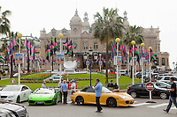 Casino Square, Monte Carlo, Monaco, 19 April 2013