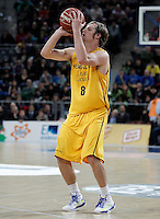 Herbalife Gran Canaria's Brad Newley during Spanish Basketball King's Cup match.February 07,2013. (ALTERPHOTOS/Acero) /NortePhoto