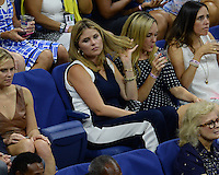 FLUSHING NY- SEPTEMBER 08: Jenna Welch Bush Hager is seen watching Serena Williams Vs Karolina Pliskova on Arthur Ashe Stadium at the USTA Billie Jean King National Tennis Center on September 8, 2016 in Flushing Queens. Credit: mpi04/MediaPunch