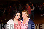 Pictured at the Kick Boxing fight night in The Devon Inn, Templeglantine last Saturday night was Shauna Kelliher from Kilmorna with Emily Lyod from Abbeyfeale.