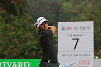 Joakim Lagergren (SWE) on the 7th tee during Round 4 of the UBS Hong Kong Open, at Hong Kong golf club, Fanling, Hong Kong. 26/11/2017<br /> Picture: Golffile | Thos Caffrey<br /> <br /> <br /> All photo usage must carry mandatory copyright credit     (&copy; Golffile | Thos Caffrey)