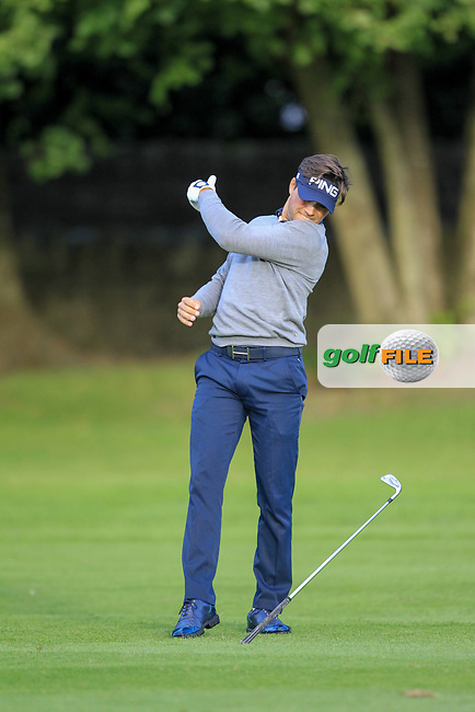 Oscar Lengden (SWE) during round 1 of the Irish Challenge, Mount Wolseley Hotel and Golf Resort, Tullow, Co Carlow, Ireland 14/09/2017<br /> Picture: Fran Caffrey / Golffile<br /> <br /> All photo usage must carry mandatory copyright credit (&copy; Golffile | Fran Caffrey)