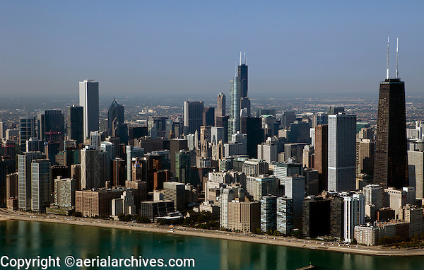 aerial photograph Chicago, Illinois