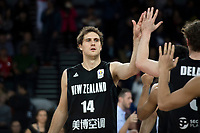 New Zealand Tall Blacks&rsquo; Rob Loe in action during the FIBA World Cup Basketball Qualifier - NZ Tall Blacks v China at Spark Arena, Auckland, New Zealand on Sunday 1 July 2018.<br /> Photo by Masanori Udagawa. <br /> www.photowellington.photoshelter.com