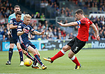 Lee Wallace gets a shot away