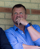 Wycombe Wanderers Chairman Andrew Howard of Beechdean Ice Cream during the Sky Bet League 2 match between Wycombe Wanderers and Hartlepool United at Adams Park, High Wycombe, England on 5 September 2015. Photo by Andy Rowland.