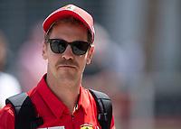 Sebastian VETTEL (GER) (SCUDERIA FERRARI) during the Bahrain Grand Prix at Bahrain International Circuit, Sakhir,  on 31 March 2019. Photo by Vince  Mignott.