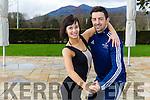 Aidan O'Mahony with his partner Valeria Milova  at rehearsals in the Brehon Hotel on Wednesday