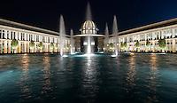 Abu Dhabi Sorbonne University Fountain