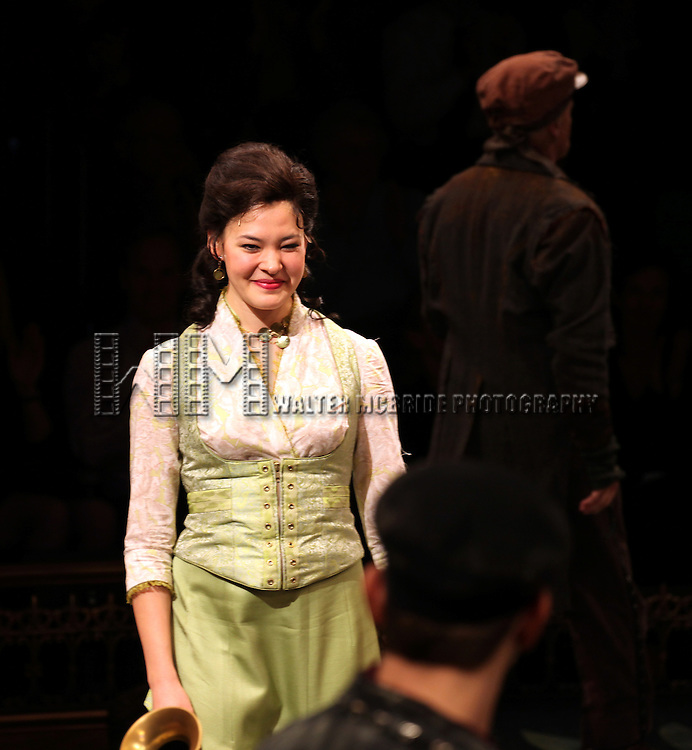 Manna Nichols during the Curtain Call for the Arena Stage Production of 'My Fair Lady' at the Mead Center in Washington, D.C. on November 30, 2012.