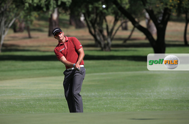 Dean Burmester (RSA) plays a neat shot to the 15th during Round Two of the 2016 BMW SA Open hosted by City of Ekurhuleni, played at the Glendower Golf Club, Gauteng, Johannesburg, South Africa.  08/01/2016. Picture: Golffile | David Lloyd<br /> <br /> All photos usage must carry mandatory copyright credit (&copy; Golffile | David Lloyd)