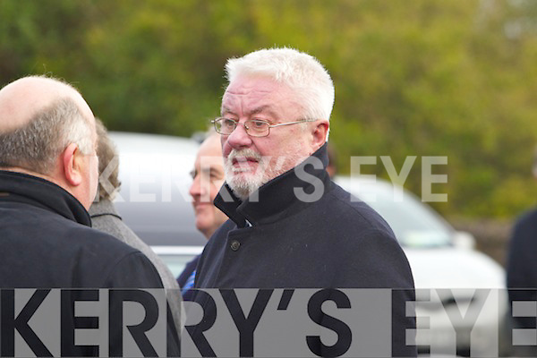 Danny Lynch at the Funeral of Paudi O'Se at Ventry Church on Tuesday.