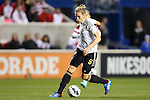 20 October 2012: Kim Kulig (GER). The United States Women's National Team played the Germany Women's National Team at Toyota Park in Bridgeview, Illinois in a women's international friendly soccer match. The game ended in a 1-1 tie.
