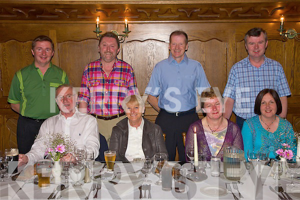 Success: Gerarad Ltd. Abbeyfeale. A staff party celebrating 30th years on the job was held at Leen's Hotel Abbeyfeale on Saturday. Front l-r: Mike  and Mary Quigley, Nora Mary Tobin and Ann Scanell. Bach l-r: Mossie Scanell, Neilus Cronin, Tony wale and Eddie O Connell..