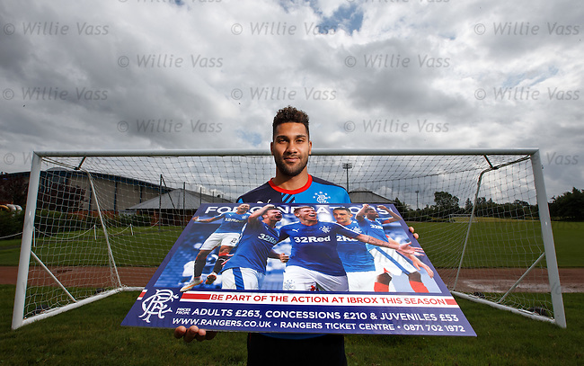 Wes Foderingham after training