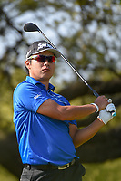 Hideki Matsuyama (JPN) watches his tee shot on 10 during day 1 of the WGC Dell Match Play, at the Austin Country Club, Austin, Texas, USA. 3/27/2019.<br /> Picture: Golffile | Ken Murray<br /> <br /> <br /> All photo usage must carry mandatory copyright credit (&copy; Golffile | Ken Murray)