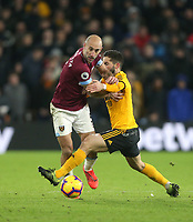 West Ham United's Pablo Zabaleta<br /> <br /> Photographer Rob Newell/CameraSport<br /> <br /> The Premier League - Wolverhampton Wanderers v West Ham United - Tuesday 29th January 2019 - Molineux - Wolverhampton<br /> <br /> World Copyright © 2019 CameraSport. All rights reserved. 43 Linden Ave. Countesthorpe. Leicester. England. LE8 5PG - Tel: +44 (0) 116 277 4147 - admin@camerasport.com - www.camerasport.com
