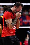 14.09.2019, Paleis 12, BrŸssel / Bruessel<br />Volleyball, Europameisterschaft, Deutschland (GER) vs. Belgien (BEL)<br /><br />Georg Grozer (#9 GER) enttŠuscht / enttaeuscht / traurig <br /><br />  Foto © nordphoto / Kurth