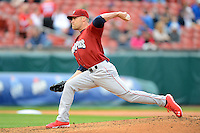 Lehigh Valley IronPigs pitcher Greg Smith #24 during the second game of a double header against the Buffalo Bisons on June 7, 2013 at Coca-Cola Field in Buffalo, New York.  Lehigh Valley defeated Buffalo 4-0.  (Mike Janes/Four Seam Images)