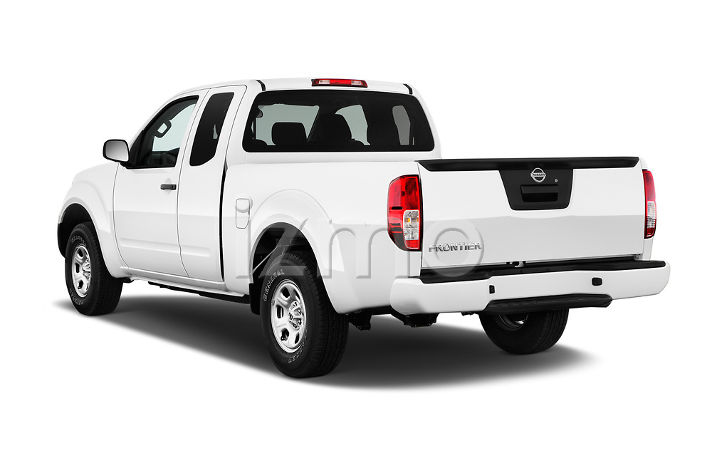 Car pictures of rear three quarter view of 2017 Nissan Frontier S-King-Cab 4 Door Pickup Angular Rear
