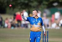 R Mack of Upminster during Upminster CC vs Essex CCC, Benefit Match Cricket at Upminster Park on 8th September 2019