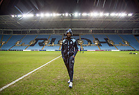 Marcus Bean of Wycombe before the The Checkatrade Trophy - EFL Trophy Semi Final match between Coventry City and Wycombe Wanderers at the Ricoh Arena, Coventry, England on 7 February 2017. Photo by Andy Rowland.
