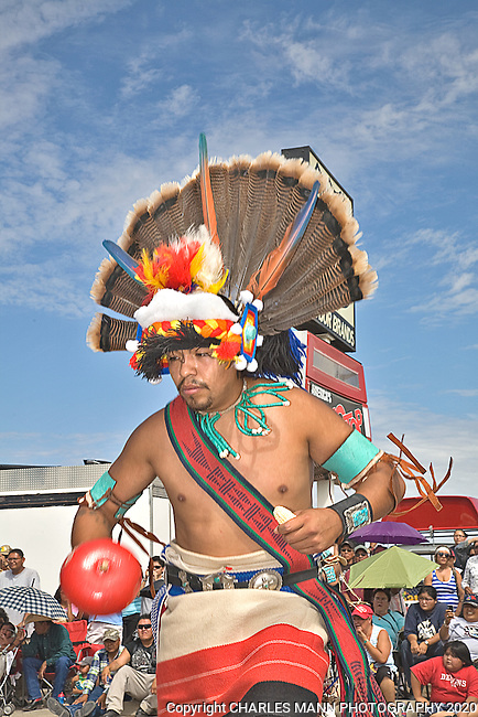 The Gallup 90th Intertribal Ceremonial features many different tribes participating in a number of events and ceremonies. The Morning Parade was held on Saturday the 13th of August on Route 66. A Zuni Pueblo dancer in the Morning Parade.
